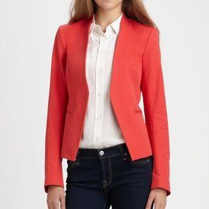 Theory Lanai Bi Stretch Coral Blazer Jacket